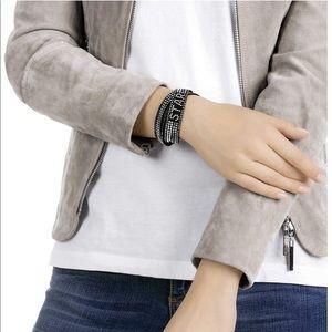 Swarovski Bracelet SLAKE EXPRESS STAR Black